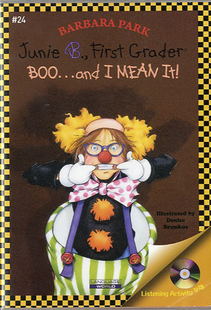 Thumnail : Junie B. Jones  #24:First Grader (Boo...and I Mean It!) (B+CD)