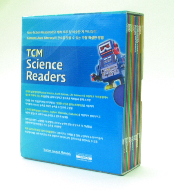 TCM Science Readers (level1~2) Box Set