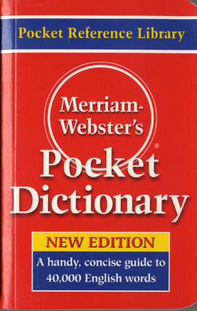 Merriam-Webster´s Pocket Dictionary [New]