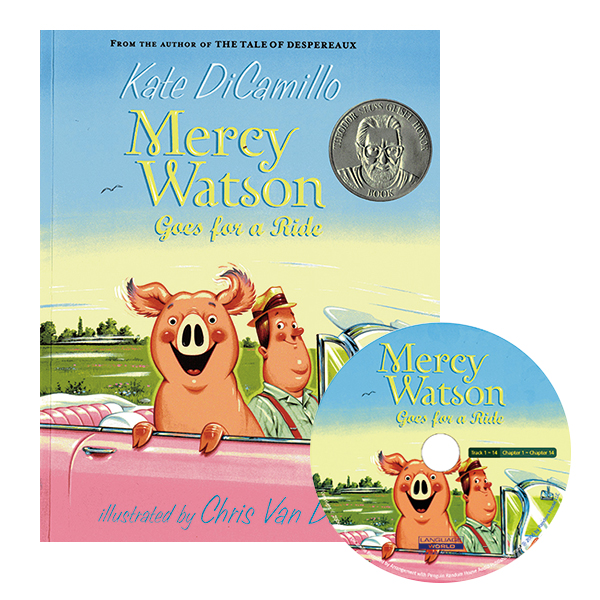 Mercy Watson Goes for a Ride B+CD