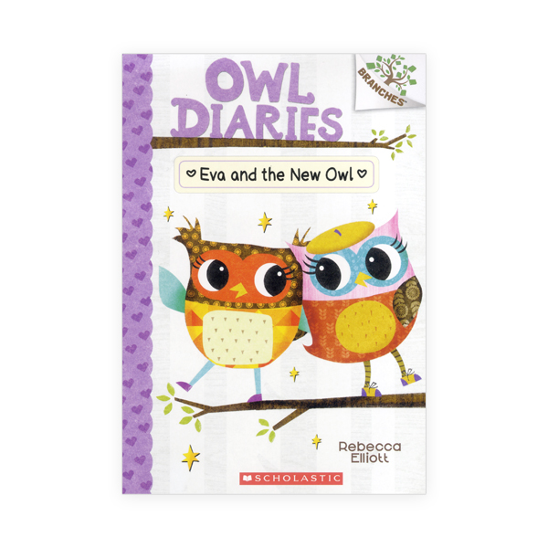 Owl Diaries #4:Eva and the New Owl 대표이미지