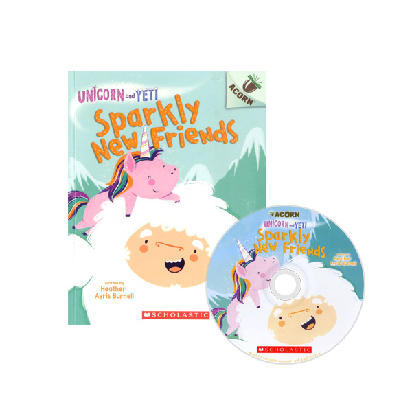 Thumnail : Unicorn And Yeti #1: Sparkly New Friends (CD & StoryPlus)