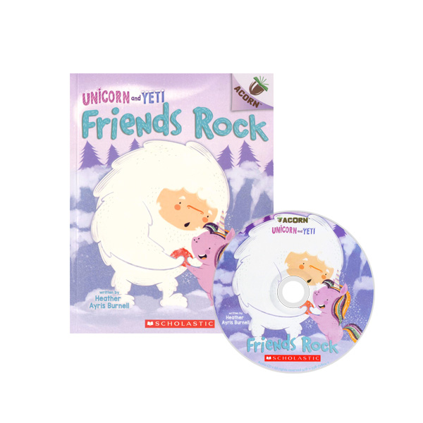 Thumnail : Unicorn And Yeti #3: Friends Rock (CD & StoryPlus)