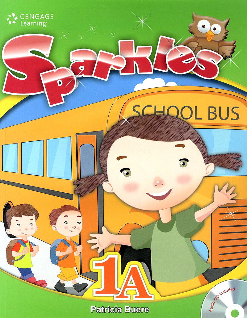 Sparkles student book with workbook and audio CD 1A 대표이미지