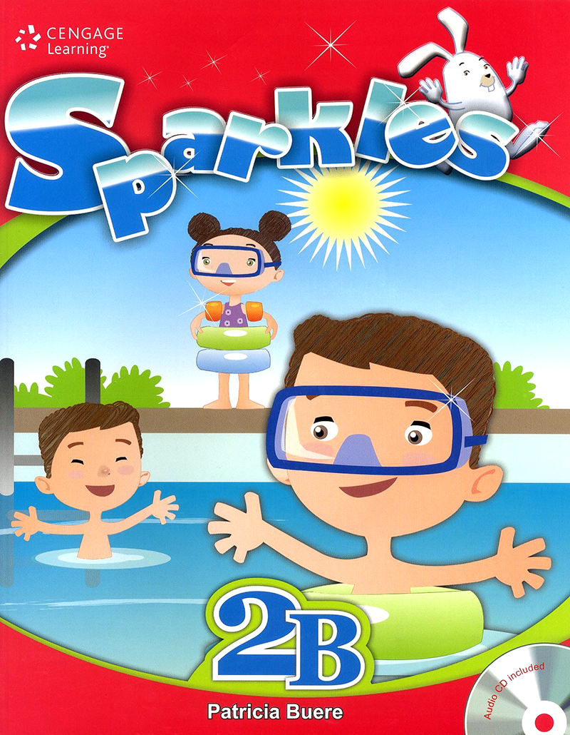 Sparkles student book with workbook and audio CD 2B 대표이미지