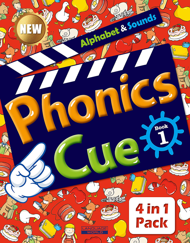 Phonics Cue 1 (SB+WB+AB+CD) New 대표이미지