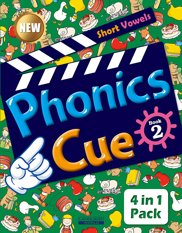 Phonics Cue 2 (SB+WB+AB+CD) New 대표이미지