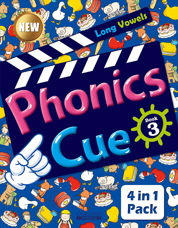Phonics Cue 3 (SB+WB+AB+CD) New 대표이미지