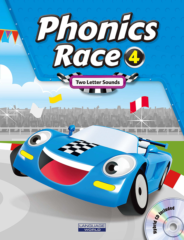 Phonics Race 4 (SB+WB+CD)