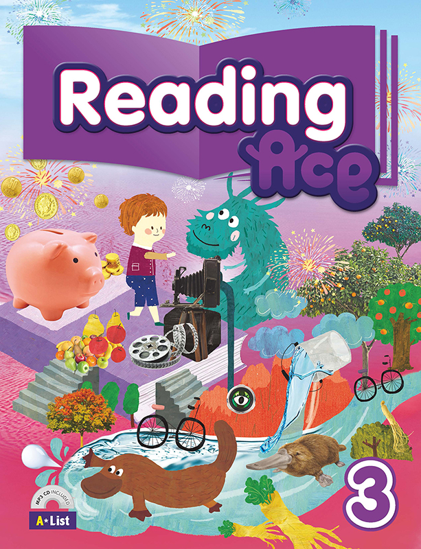 Reading Ace 3 (B+W+CD+P) 대표이미지