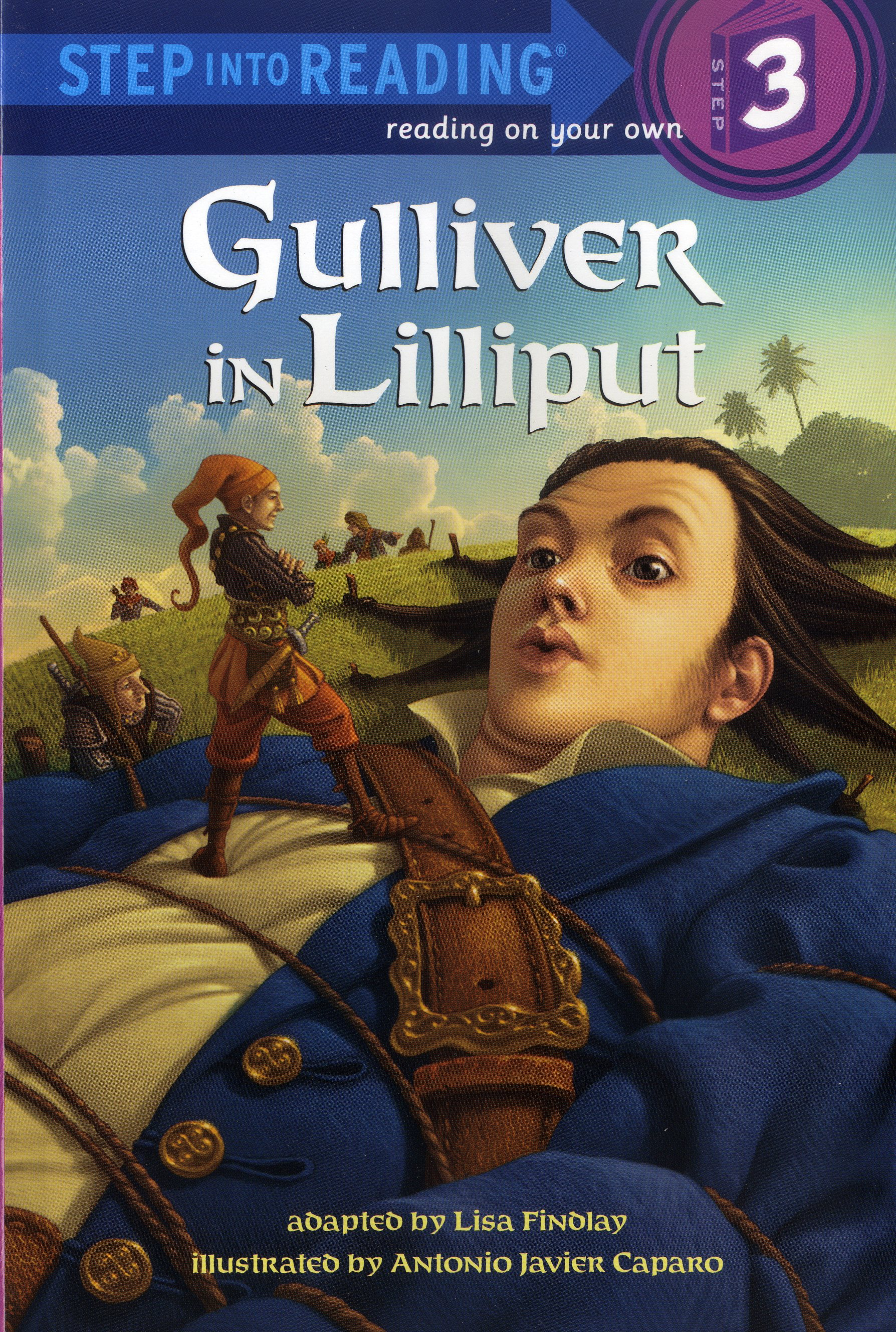 Thumnail : Step into Reading 3 Gulliver in Lilliput (New)