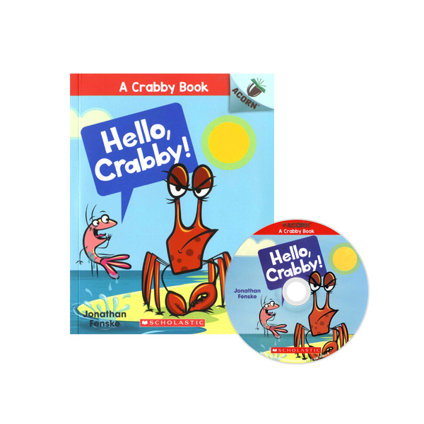 Thumnail : A Crabby Book #1: Hello, Crabby! (CD & StoryPlus)