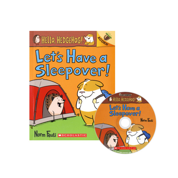Thumnail : Hello, Hedgehog! #2: Let's Have a Sleepover! (CD & StoryPlus)