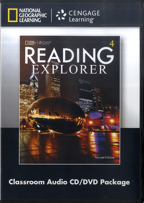 READING EXPLORER 2E 4 DVD/AUDIO