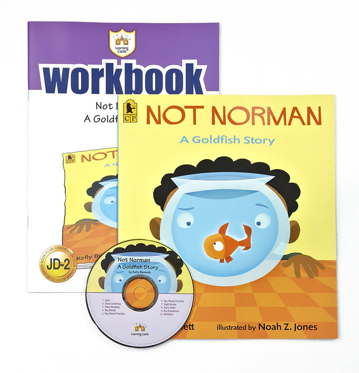 Thumnail : 러닝캐슬 JD-02-Not Norman: A Goldfish Story (SB+WB+CD)