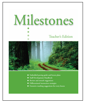 Milestones A-Teacher's Edition