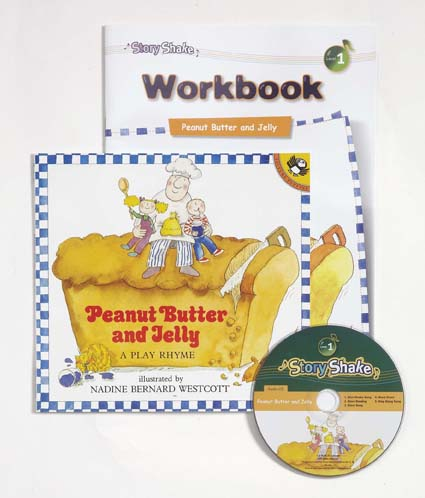 Story Shake Pack 1 Peanut Butter and Jelly (B+CD+W)