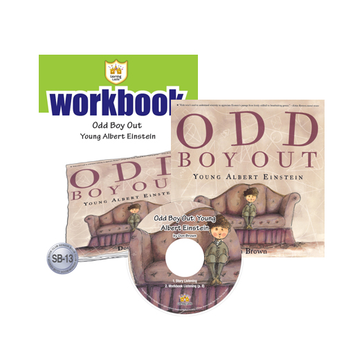 Thumnail : 러닝캐슬 SB-13-Odd Boy Out: Young Albert Einstein (SB+WB+CD)