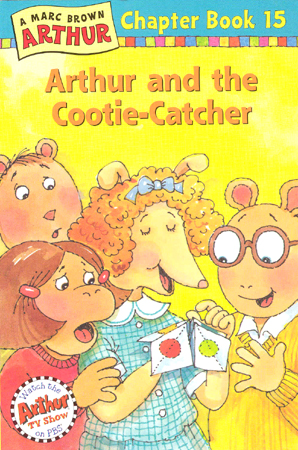 Arthur Chapter Book 15 Arthur And The Cootie Catcher