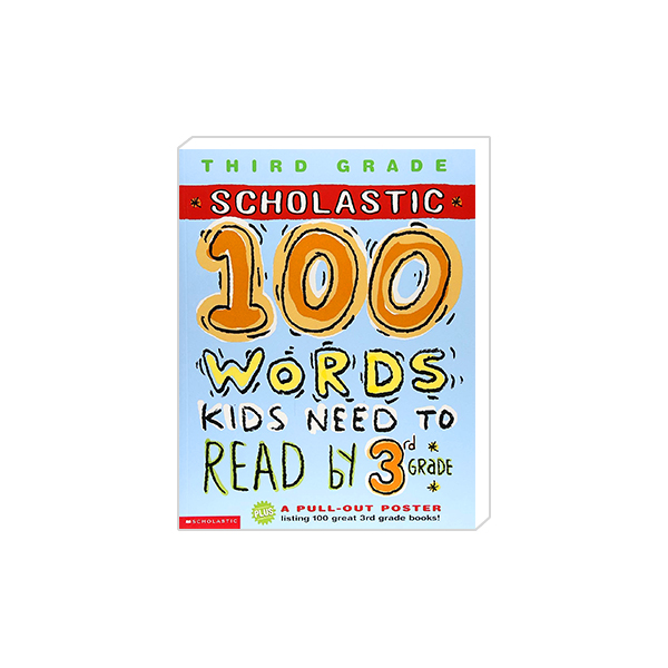 100 Words Kids Need To Read by 3rd Grade 대표이미지