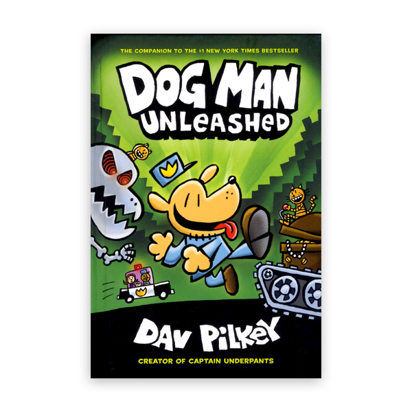 Dog Man #2:Dog Man Unleashed:From the Creator of Captain Underpants  대표이미지