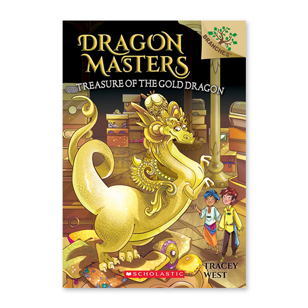 Dragon Masters #12:Treasure of the Gold Dragon (A Branches Book)