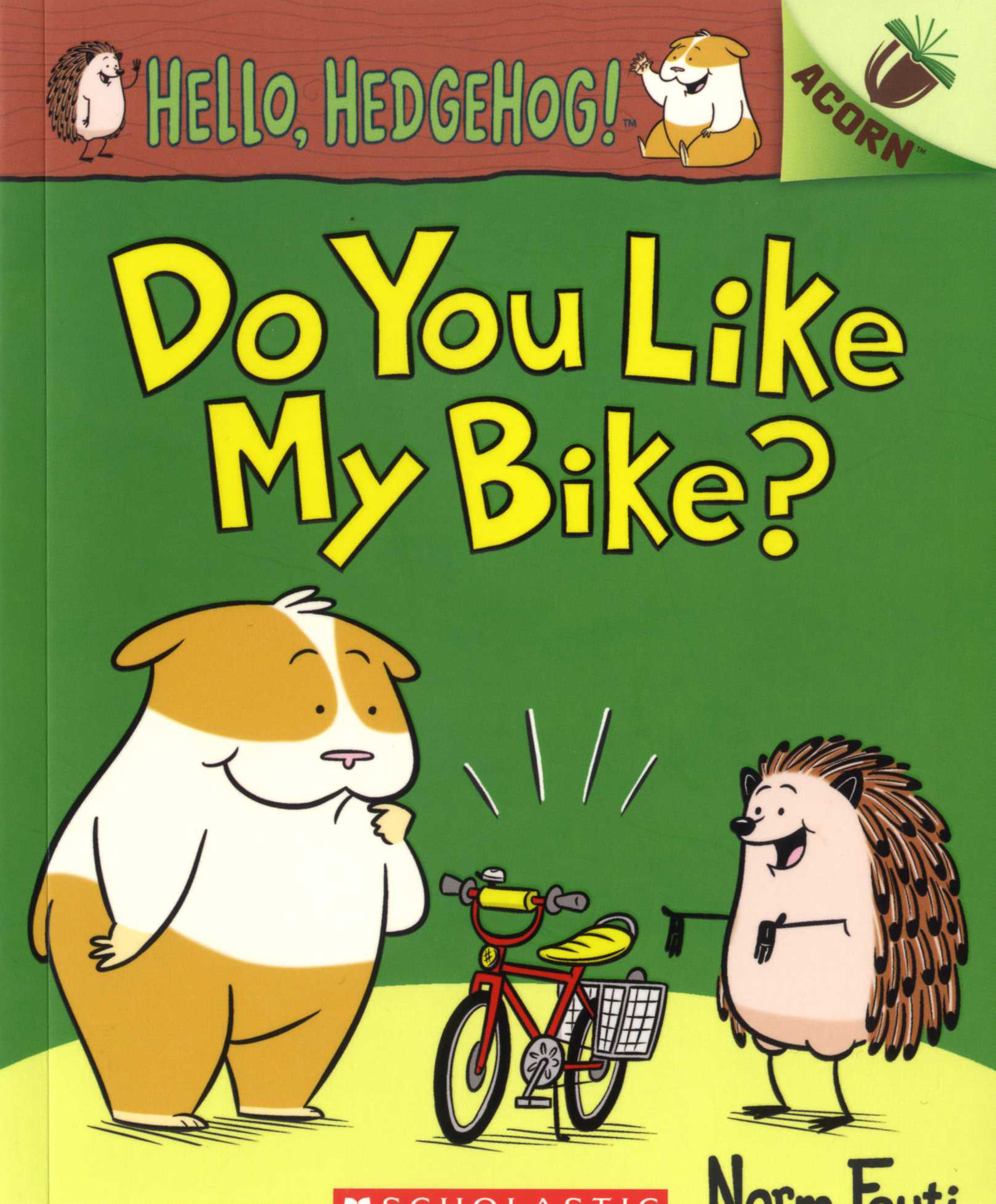 Hello, Hedgehog! #1: Do You Like My Bike? 대표이미지