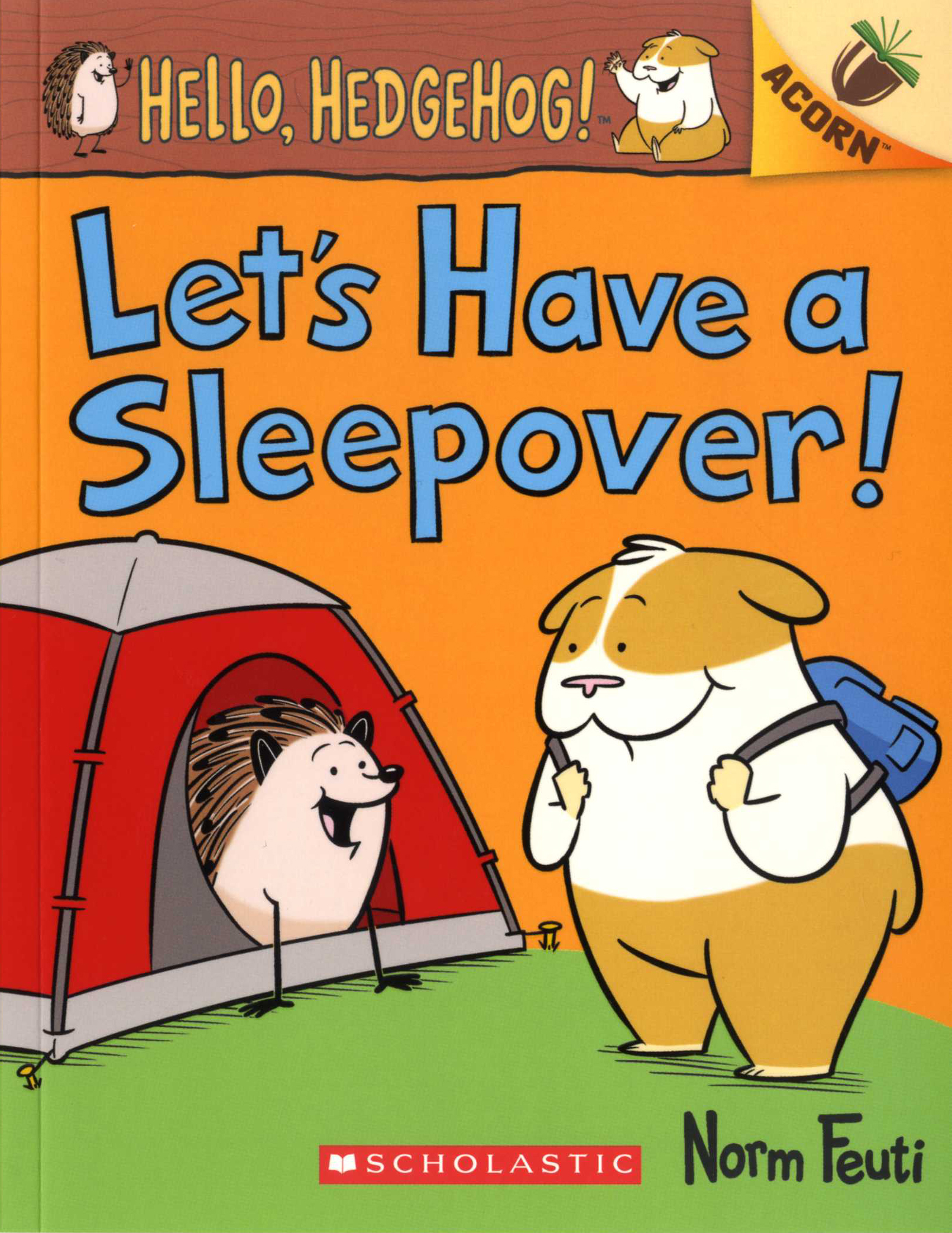 Hello, Hedgehog! #2: Let's Have a Sleepover! 대표이미지