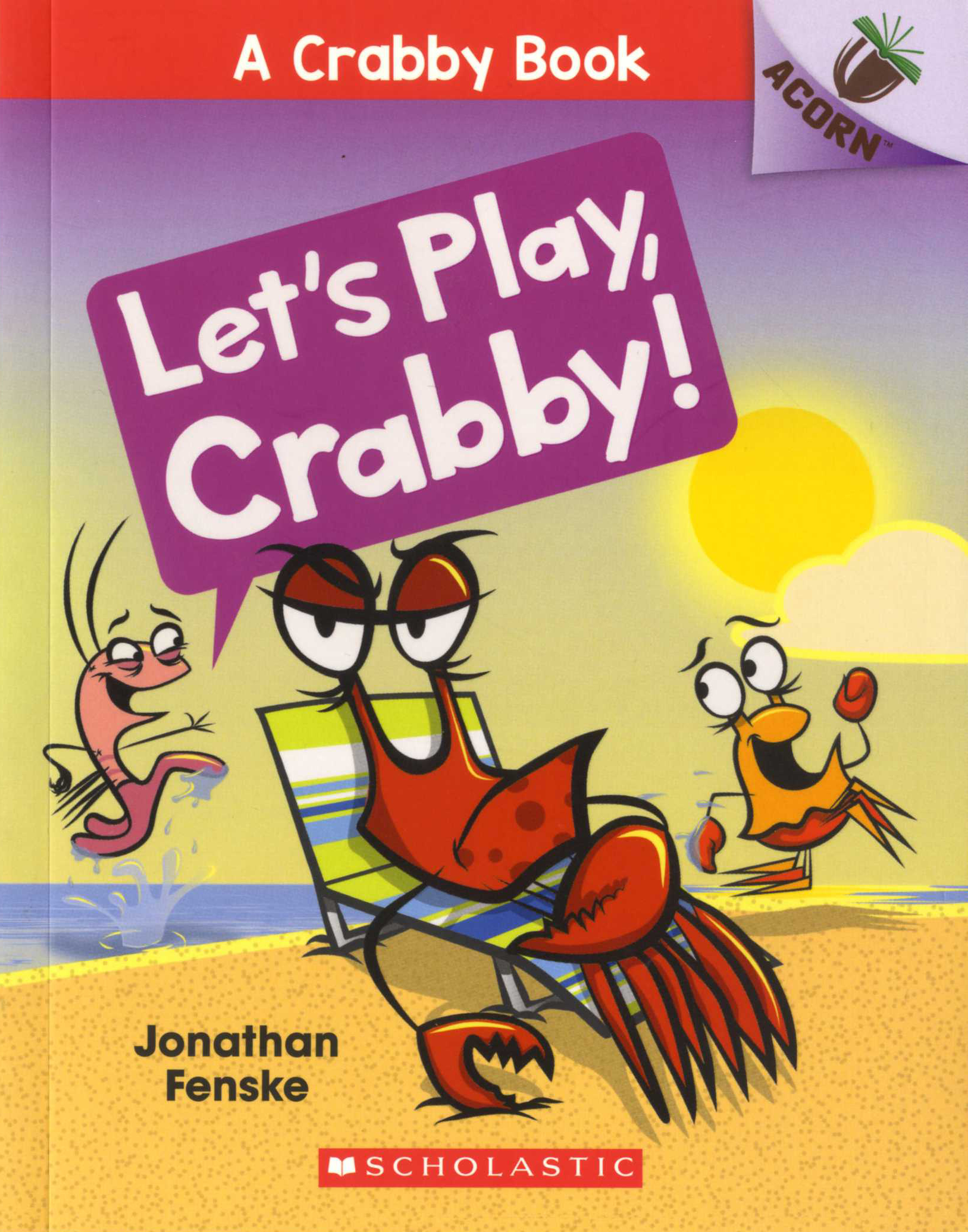 A Crabby Book #2: Let's Play, Crabby! 대표이미지