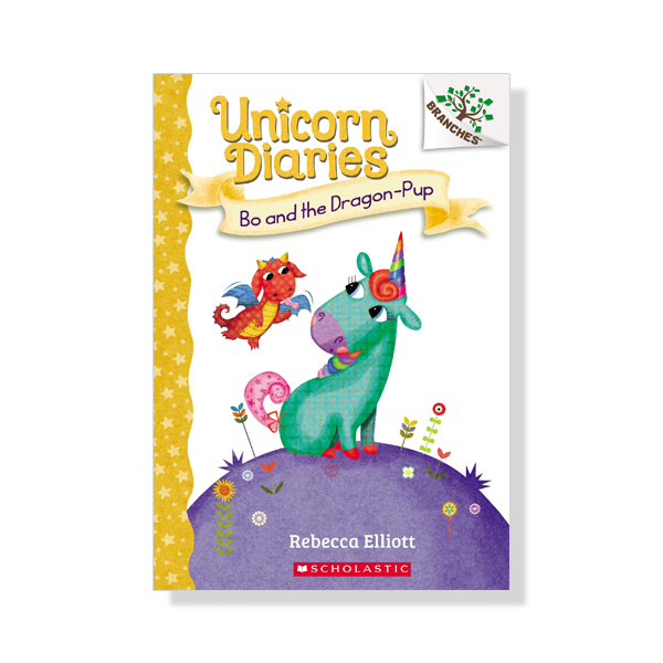 Unicorn Diaries #2: Bo and the Dragon-Pup (A Branches Book)