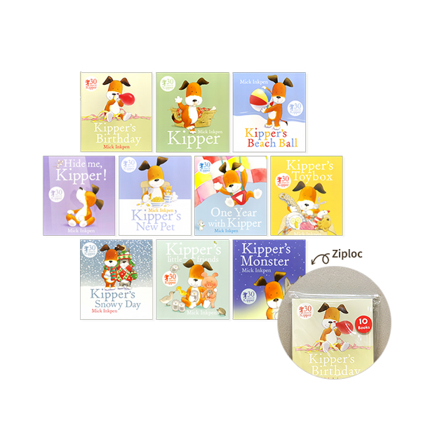 Kipper Collection 10 Books Set in a Bag Children Gift Pack (Paperback, 영국판)