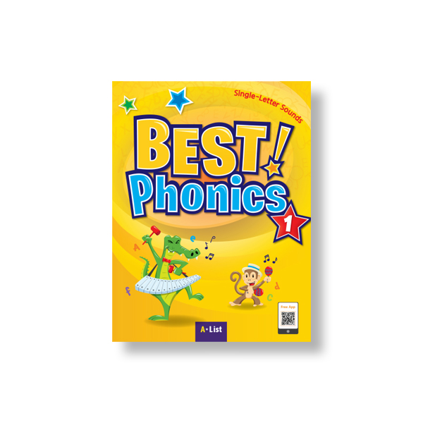 Best Phonics 1 (SB+Readers+DVD+CD) 대표이미지