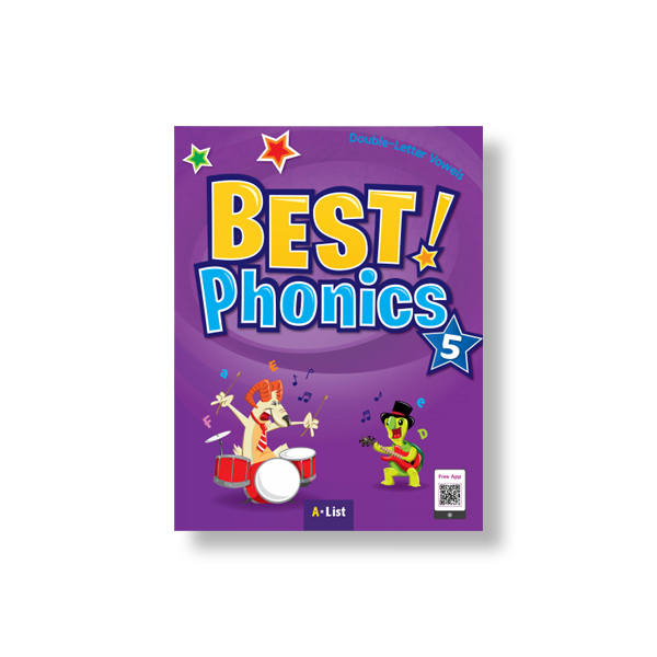 Best Phonics 5 (SB+Readers+DVD+CD) 대표이미지