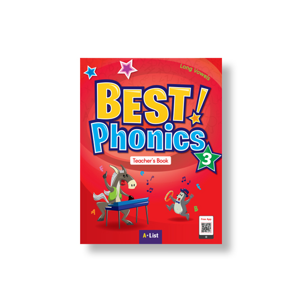 Best Phonics 3 (TB+Readers+DVD+CD)