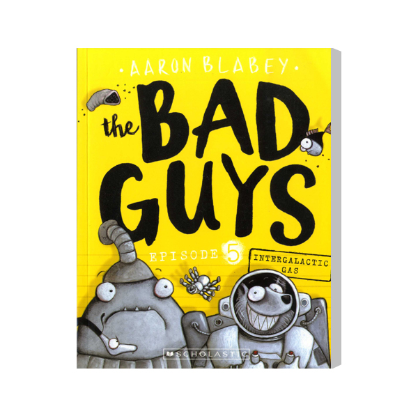 SC-The Bad Guys #5: in Intergalactic Gas