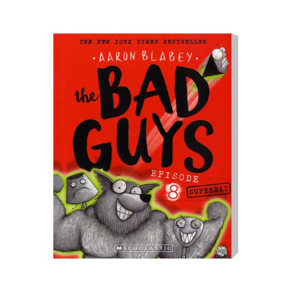 SC-The Bad Guys #8: in Superbad