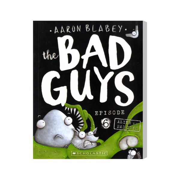 SC-The Bad Guys #6: in Alien vs Bad Guys