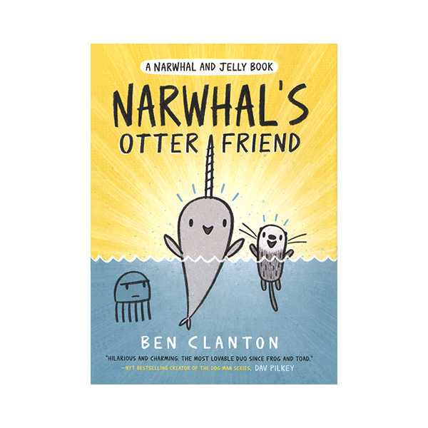 Narwhal and Jelly Book 4 : Narwhal's Otter Friend