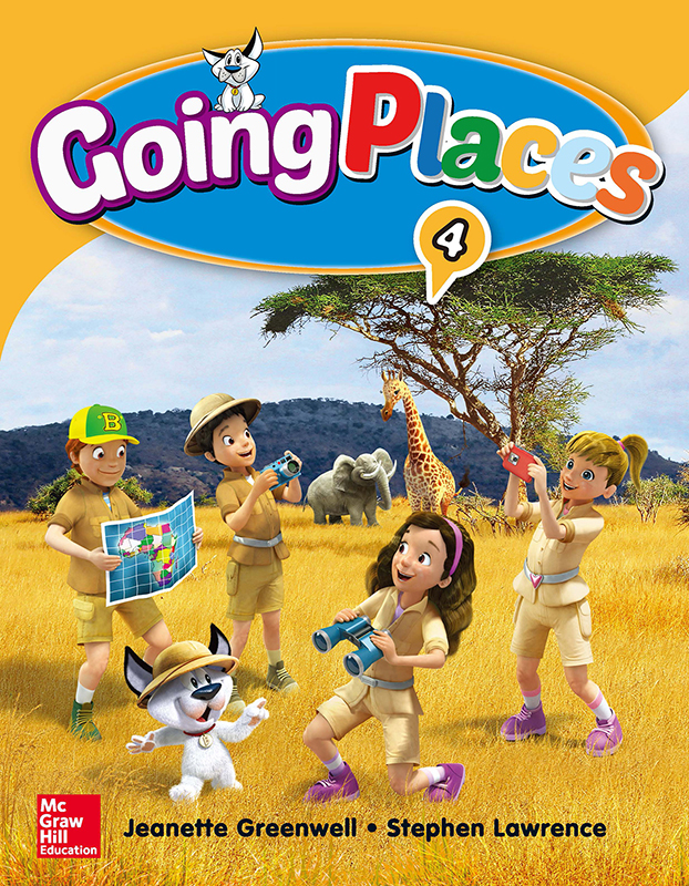 Going Places Level 4 Student Book with Workbook