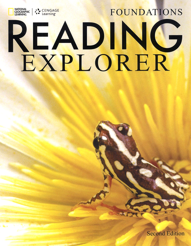 Reading explorer 2/E Foundations SB + Online WB sticker code