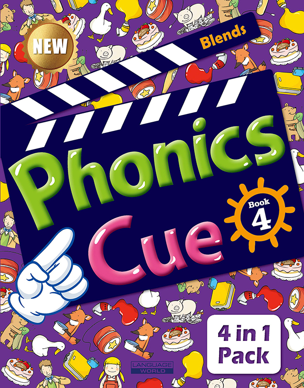Thumnail : Phonics Cue 4 (SB+WB+AB+CD) New