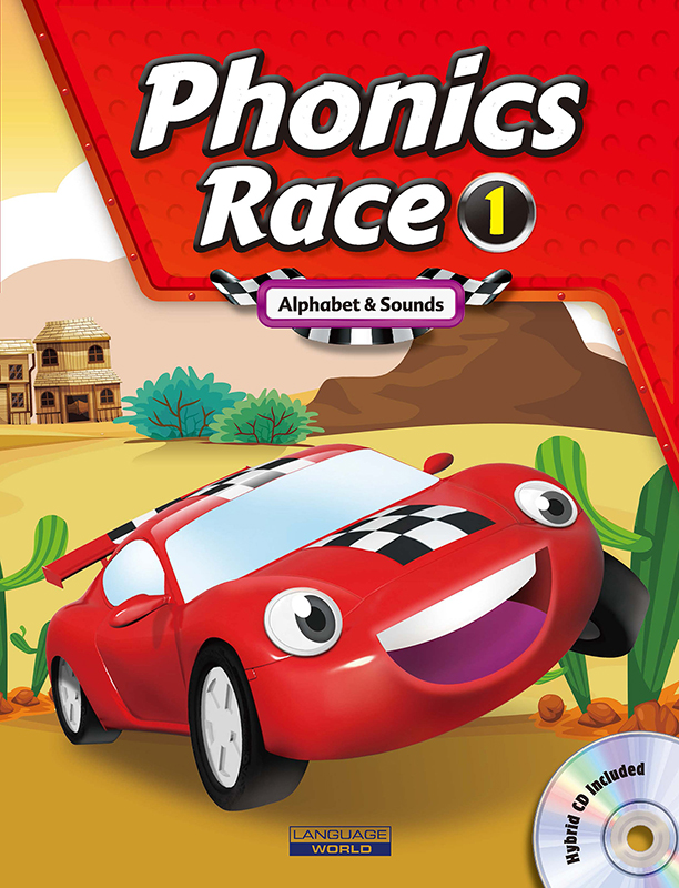 Thumnail : Phonics Race 1 (SB+WB+CD)
