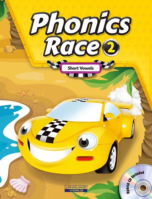Thumnail : Phonics Race 2 (SB+WB+CD)