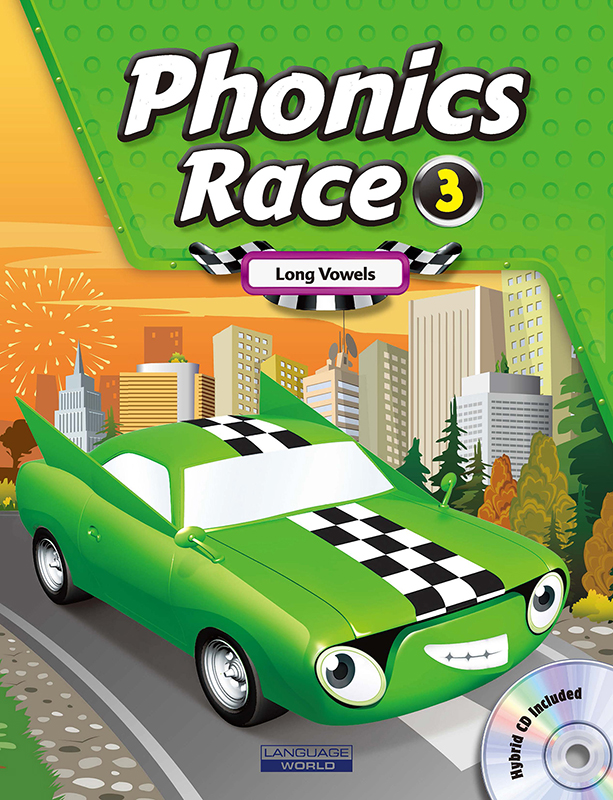 Thumnail : Phonics Race 3 (SB+WB+CD)