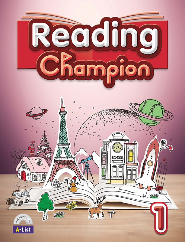 Thumnail : Reading champion 1 (B+W+MP3 CD+Summary)