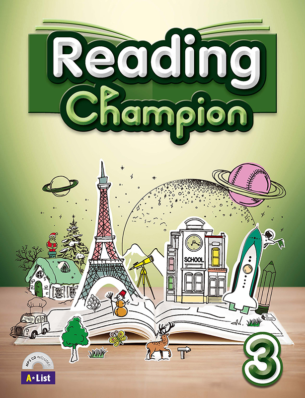Thumnail : Reading champion 3 (B+W+MP3 CD+Summary)