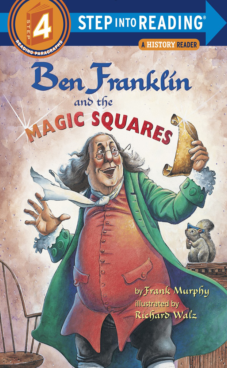 Thumnail : Step Into Reading 4 Ben Franklin and the Magic Squares(B+CD+W)