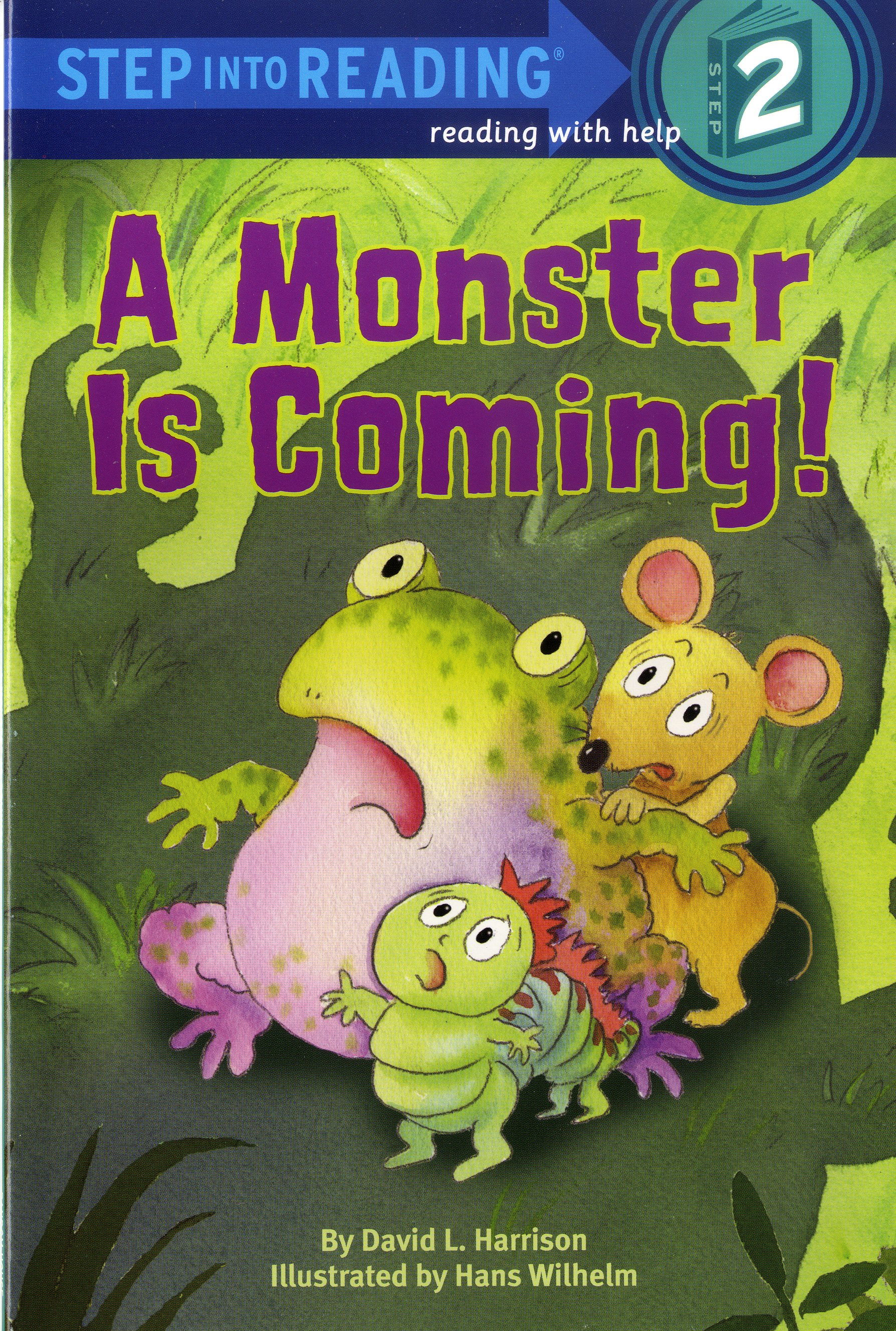 Thumnail : Step into Reading 2 A Monster is Coming!