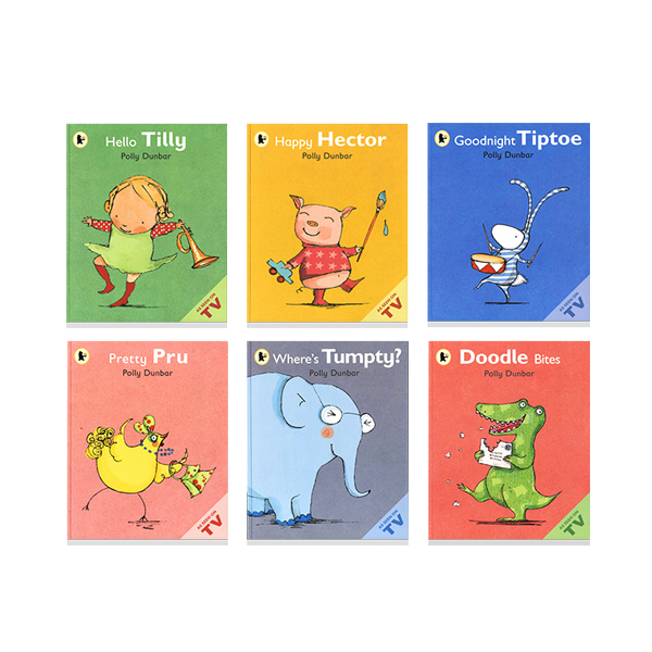 Thumnail : WB-Tilly and Friends 6종 Book Set